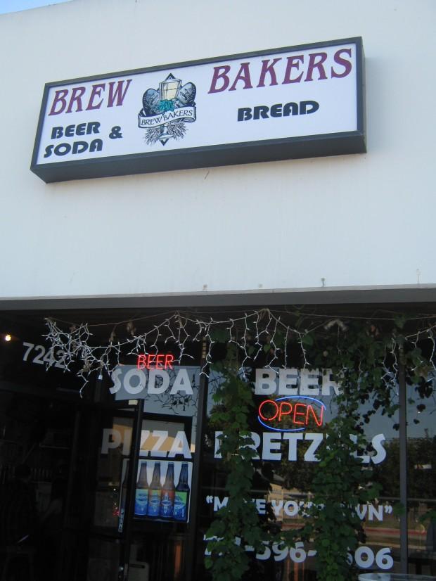 Brew Bakers, exterior