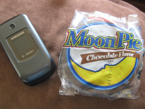Moon Pie and Phone