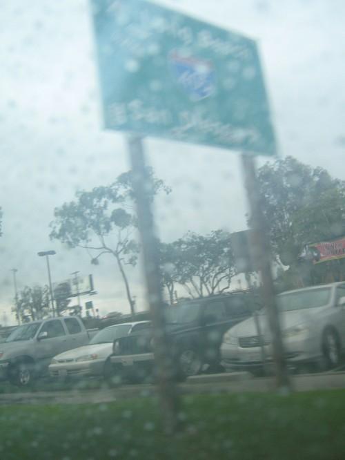 Rain in So-Cal