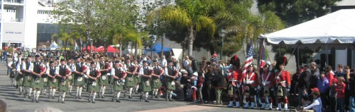Massed Pipers