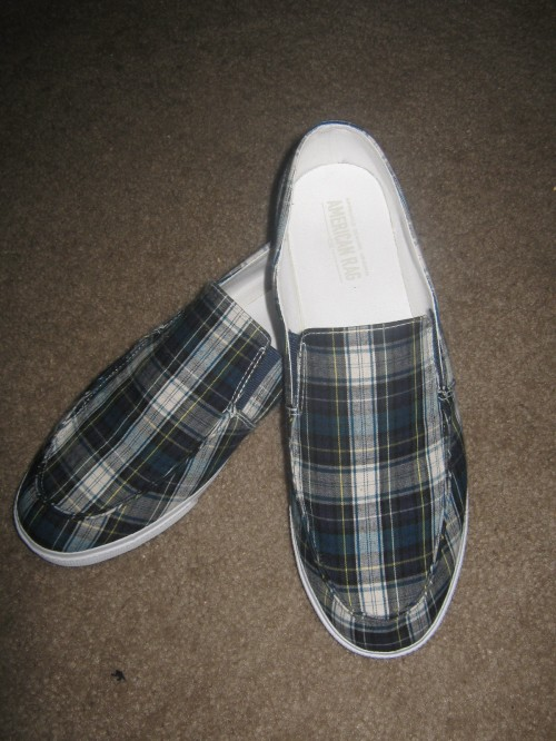 My snazzy plimsoles