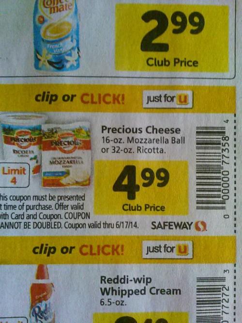 Precious Cheese.